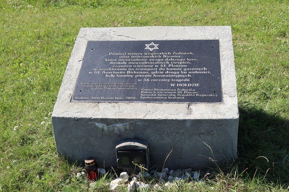 Memorial Killed Hungarian Jews Plaszow