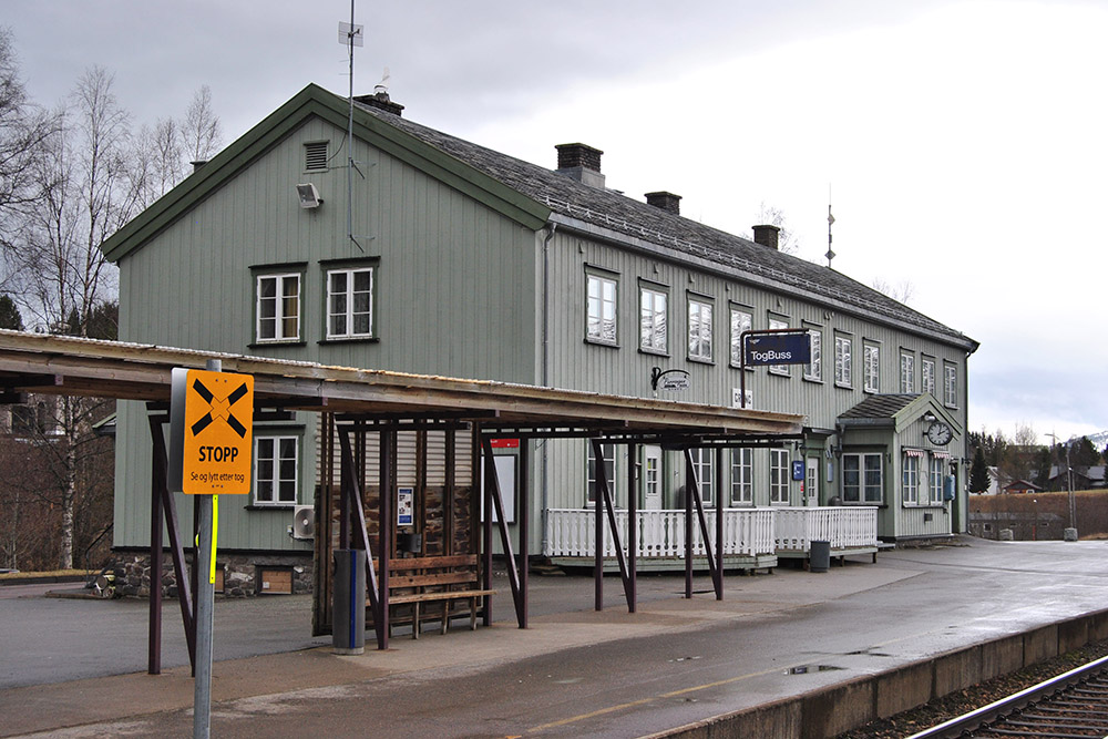 Grong Train Station