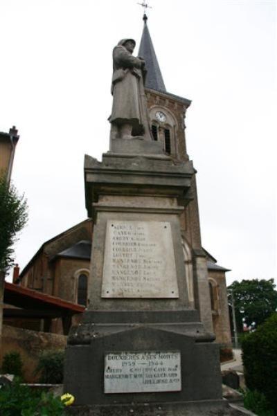 Oorlogsmonument Bouxières-sous-Froidmont