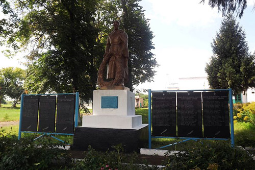 Sovjet Oorlogsbegraafplaats Tyshkivka