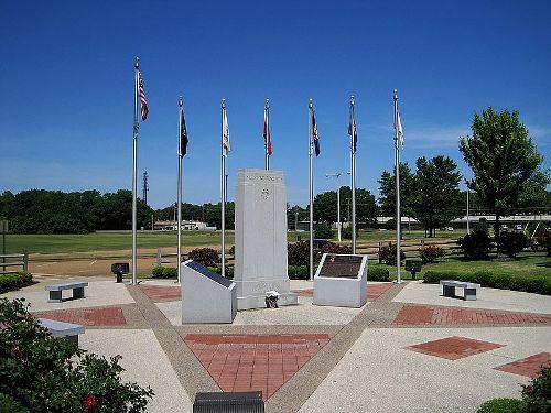 Monument Veteranen Bartlett