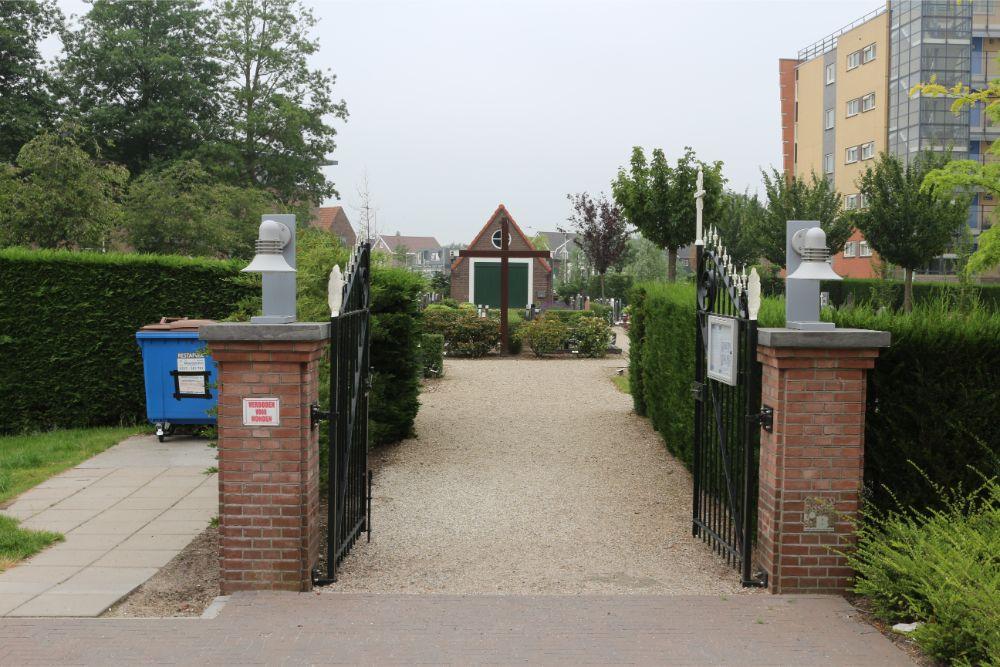 Nederlandse Oorlogsgraven Rooms Katholieke Begraafplaats Halfweg