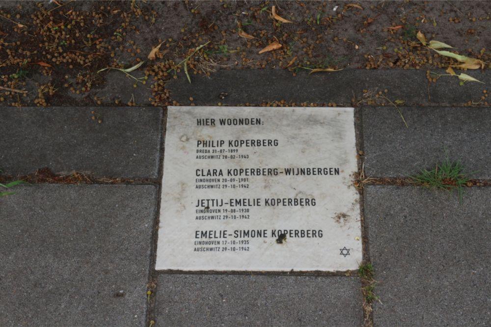 Herdenkingssteen Van Berestijnstraat 8