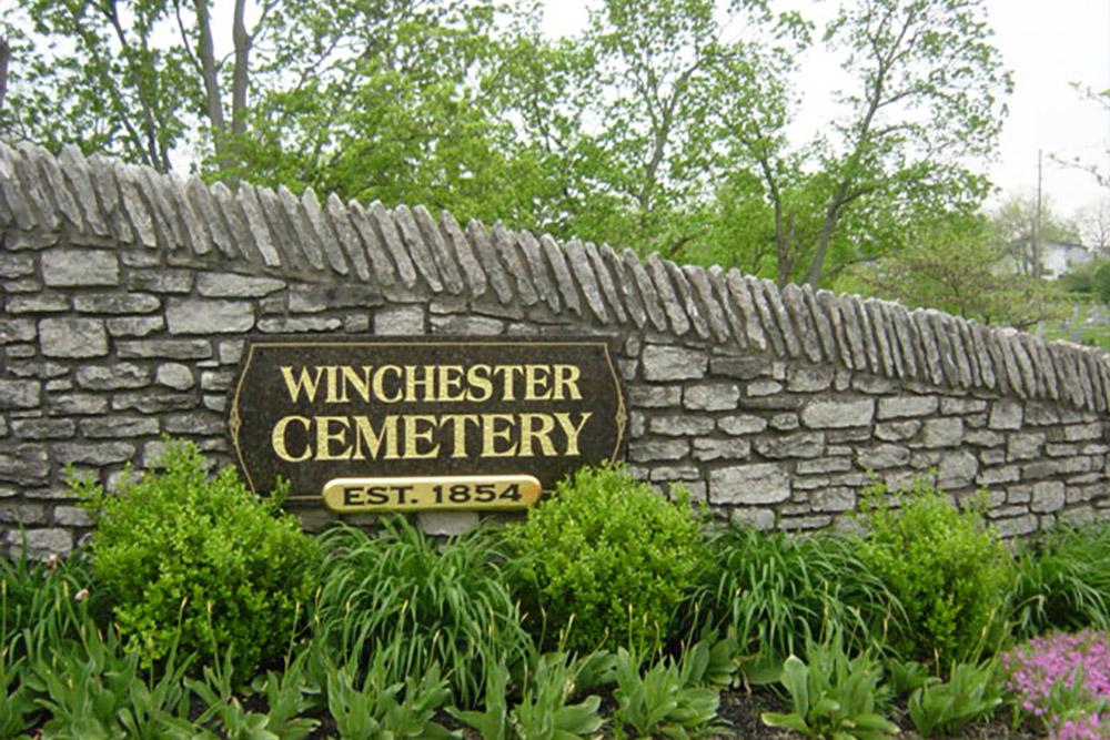 American War Grave Winchester Cemetery