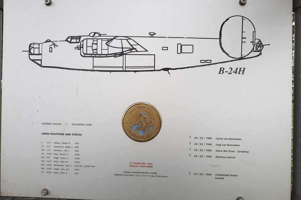 Memorial B-24H Liberator