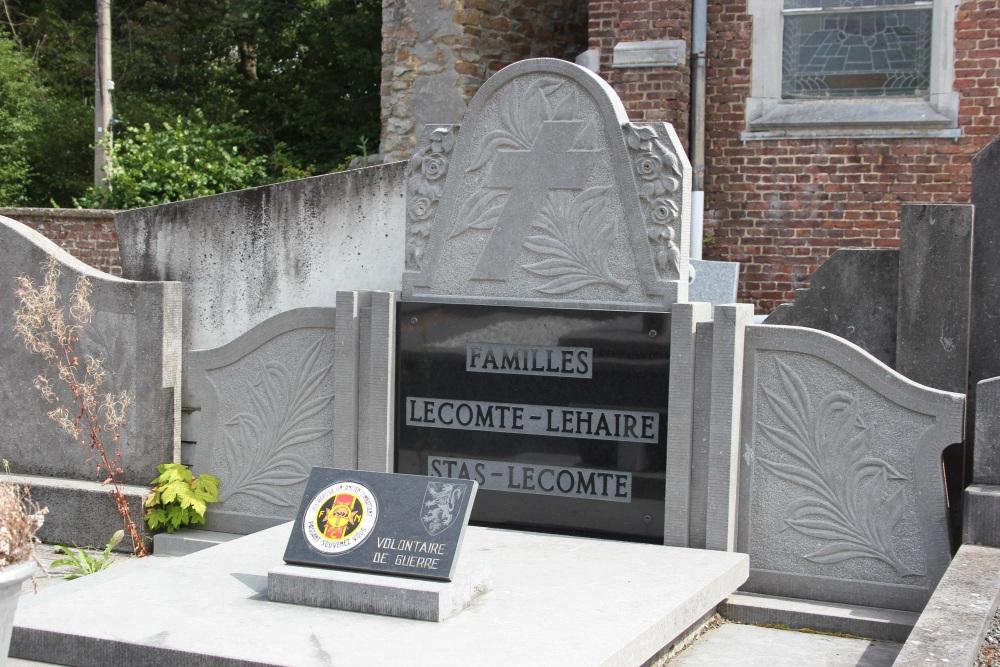 Veteran War Graves Bodegnée
