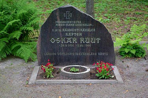 Graf SS-Hauptsturmführer Oskar Ruut