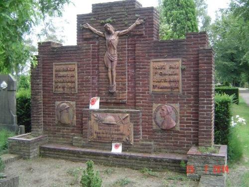 Grafmonument Belgische Militairen Venlo