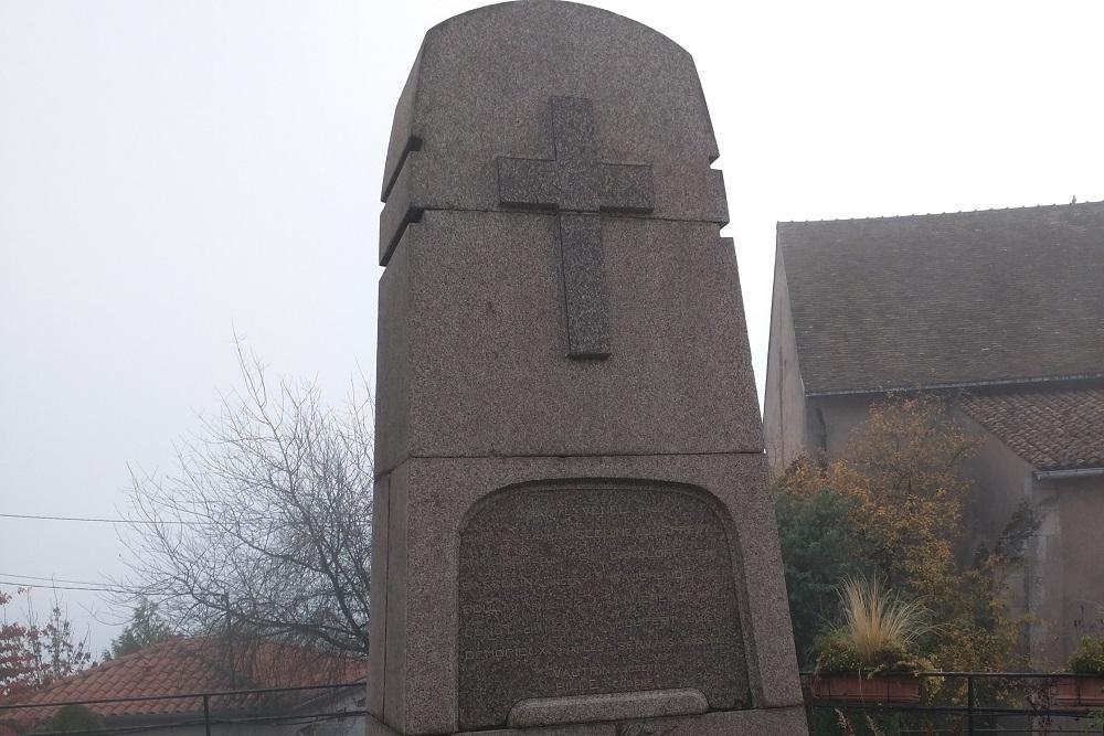 War Memorial Amance