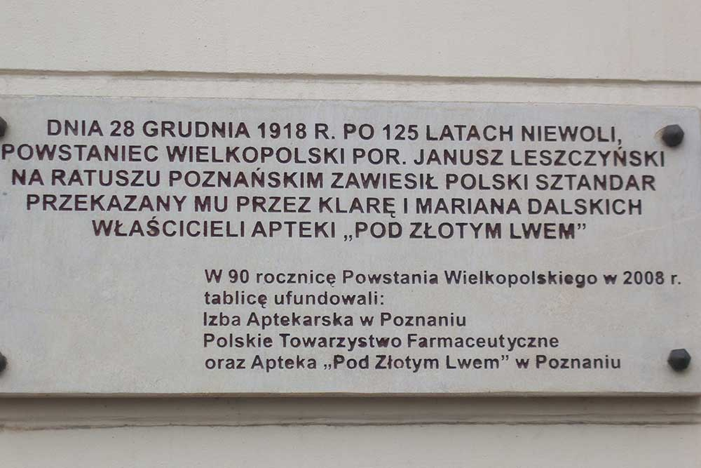 Plaque 28 December 1918