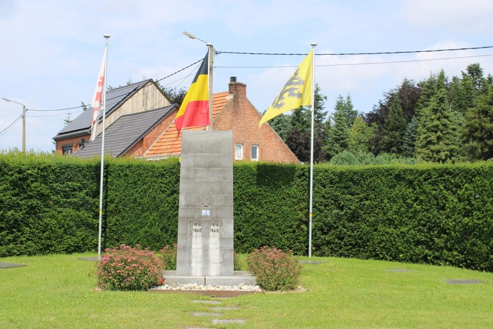 Oorlogsmonument en Belgische Oorlogsgraven Heppen