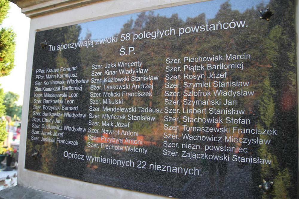 Massagraf Poolse Soldaten 1918-1919