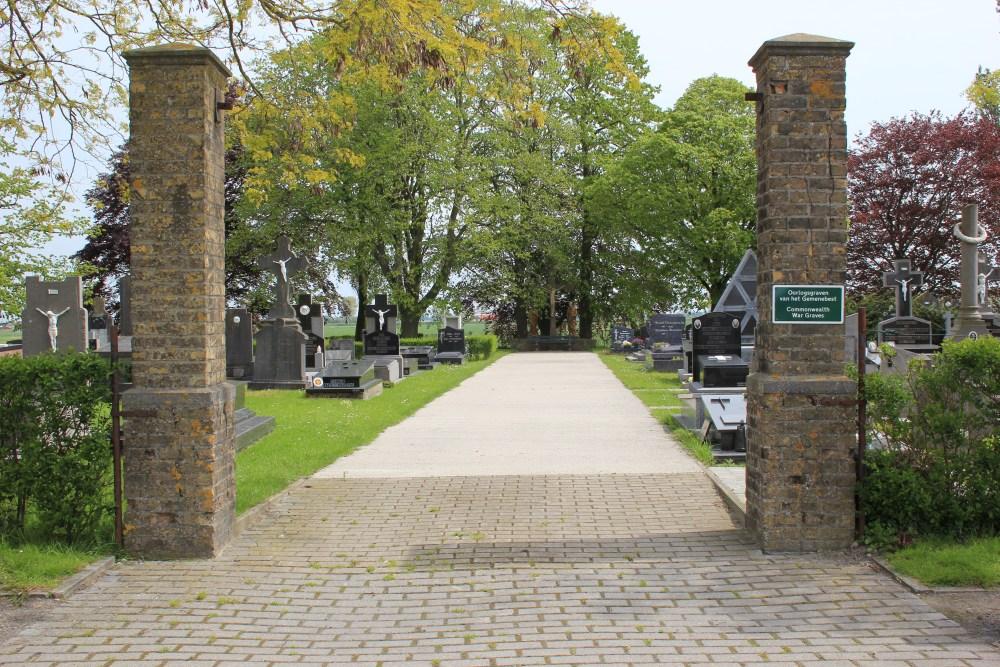Commonwealth War Graves Kaaskerke
