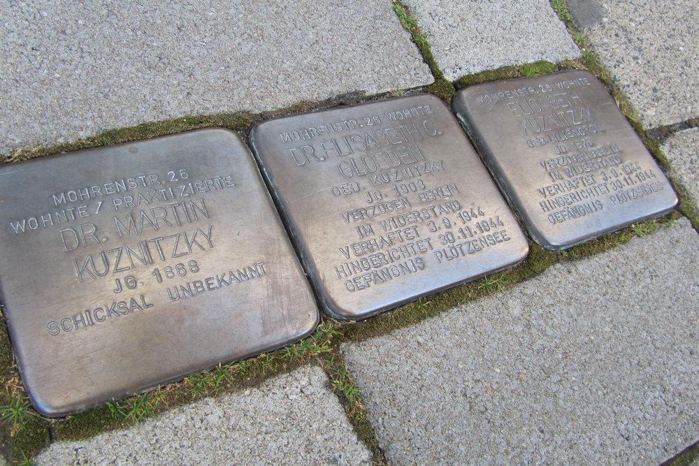 Stumbling Stones Mohrenstrasse 26