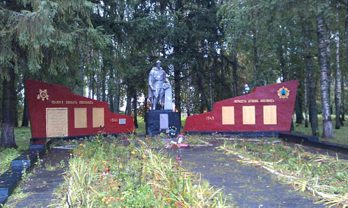 Mass Grave Soviet Soldiers & Partisans Chernatske
