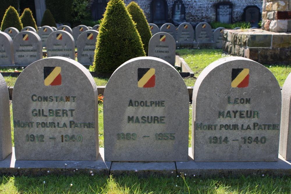 Belgian War Graves Watermaal-Bosvoorde