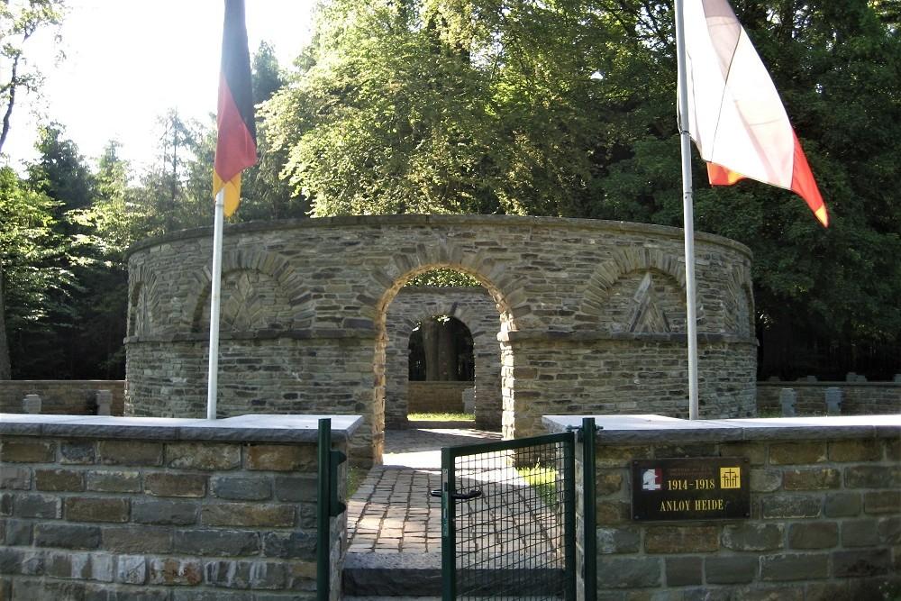 Frans-Duitse Oorlogsbegraafplaats Anloy-Heide