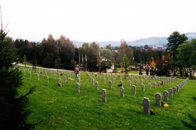 Duitse Oorlogsbegraafplaats Wallachisch Meseritsch / Valasske Mezirici