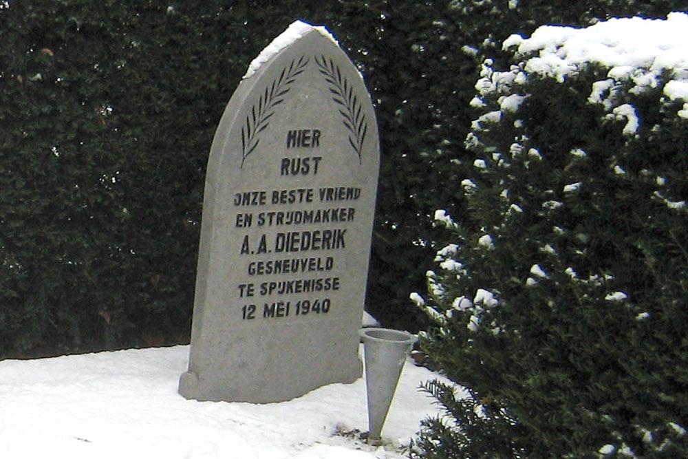 Nederlandse Oorlogsgraven Gemeentelijke Begraafplaats Spijkenisse
