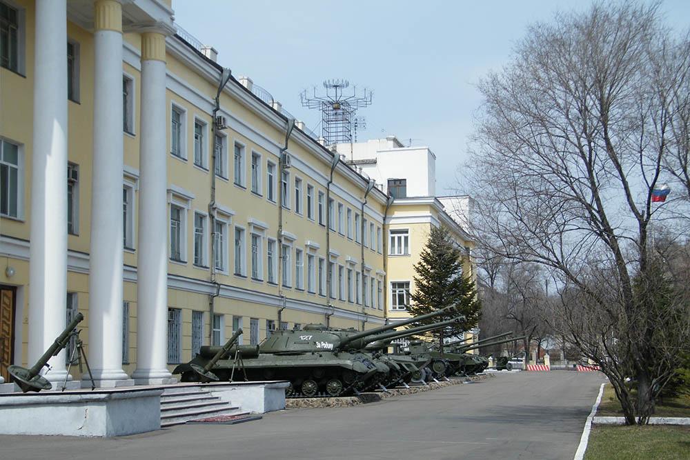 Open Air Display Weaponry Ussuriysk