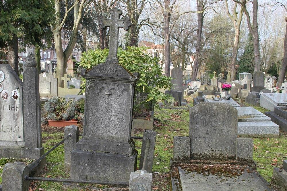 Graven Soldaten Leger van Napoleon Begraafplaats Robermont