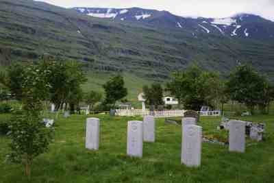 Commonwealth War Graves Seydisfjordur