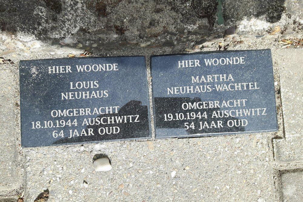 Memorial Stones De Ruyterstraat 90