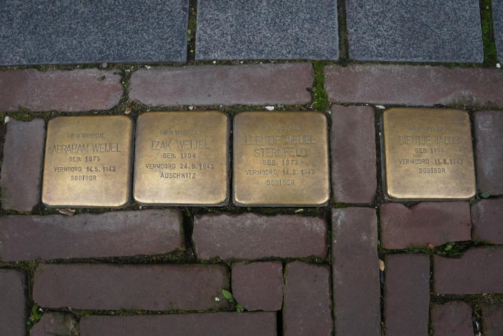 Stumbling Stones Sprongstraat 9