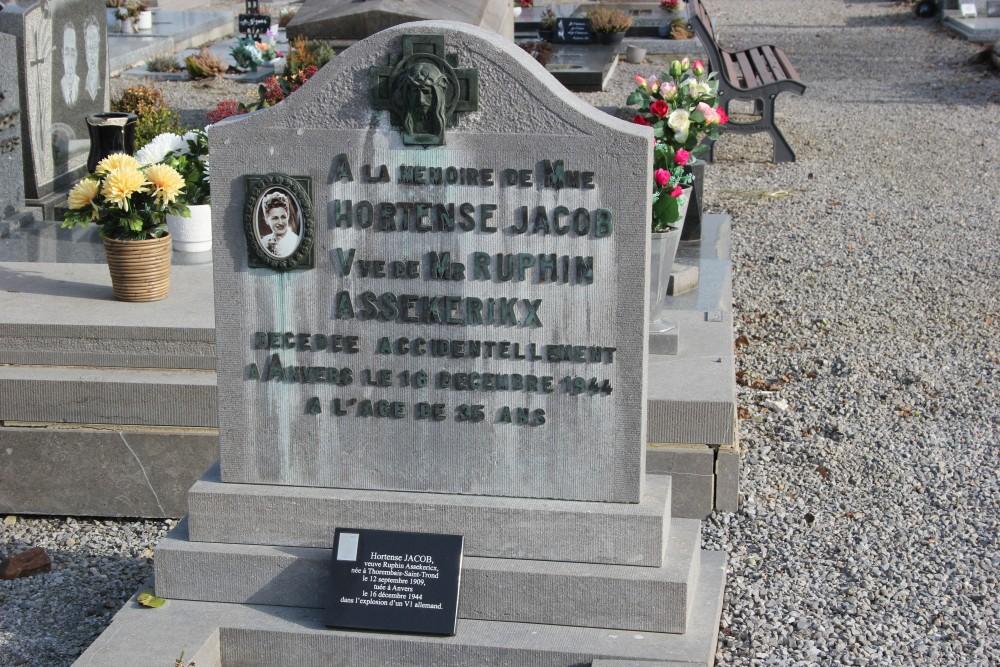Graven Burgerslachtoffers Thorembais-Saint-Trond