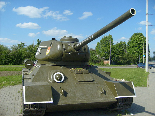 Bevrijdingsmonument (T-34/85 Tank) Poltava