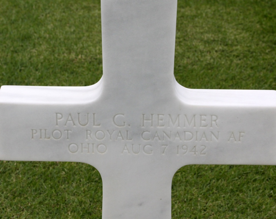 Commonwealth War Grave Carthage American Military Cemetery