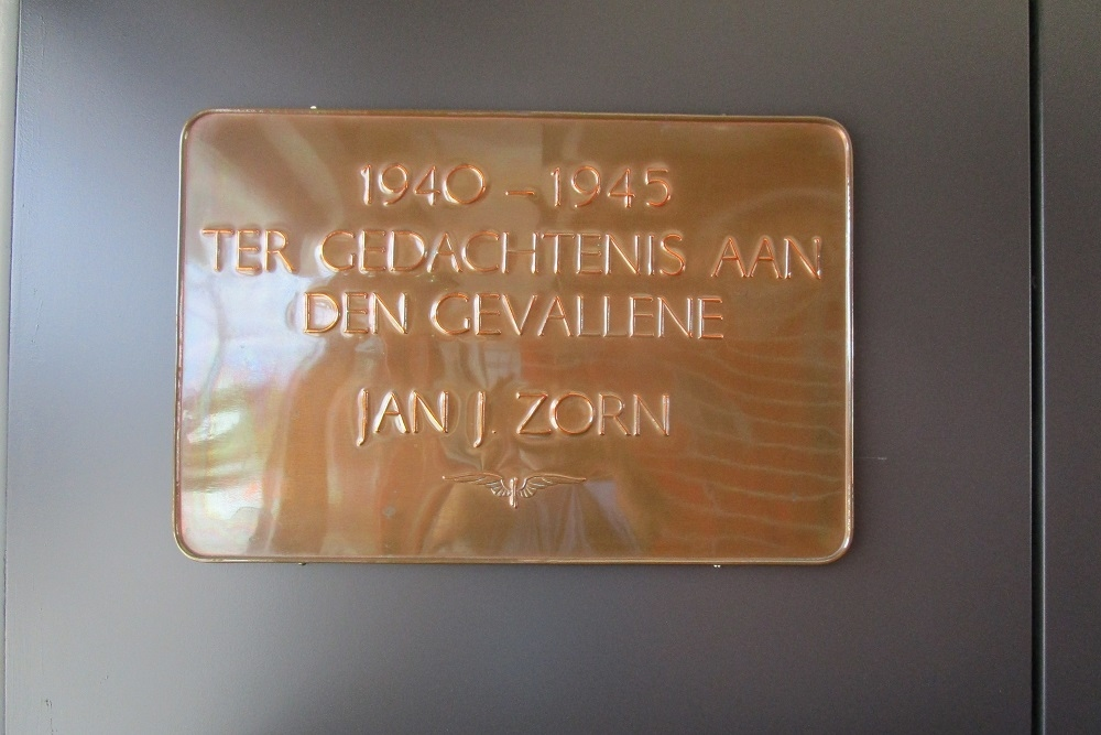 Plaque Killed Railway-Employee Oldenzaal