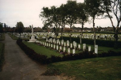 Commonwealth War Graves Cleethorpes Cemetery