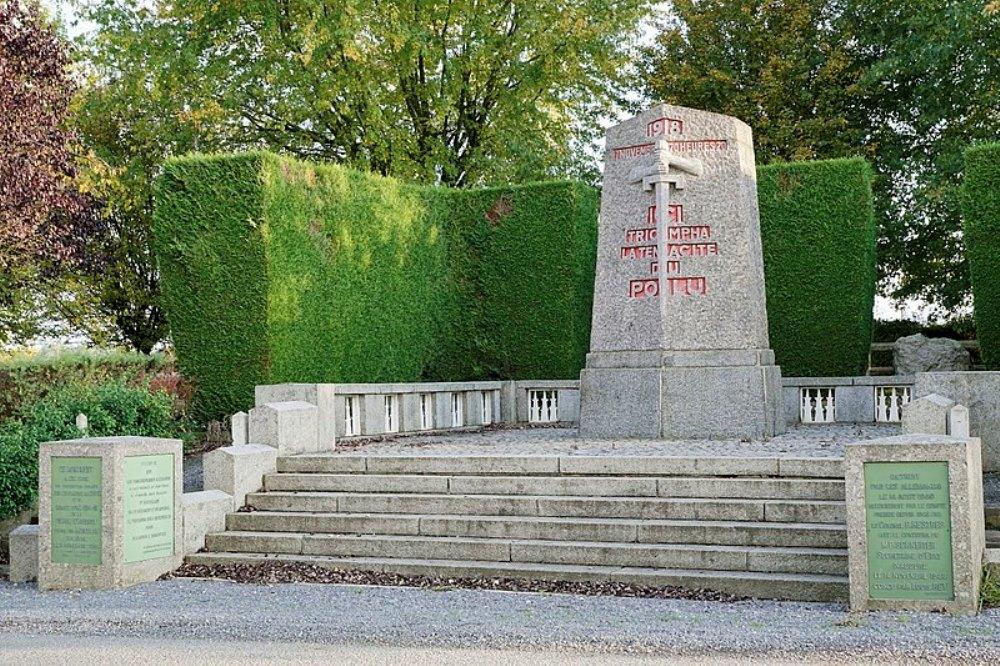 Memorial Contact for Armistice