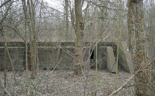 German Kitchen Bunker (Wirtschaftsbunker) Slotbos Haamstede