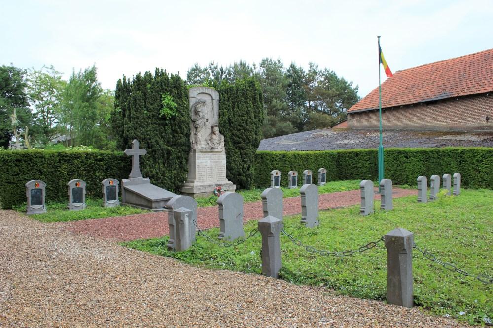 Belgian War Graves Orsmaal