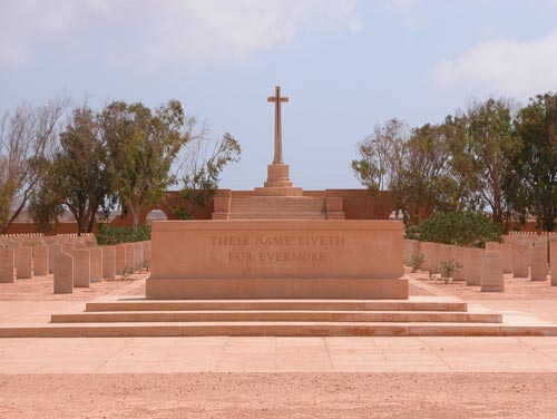 Commonwealth War Cemetery Tobruk