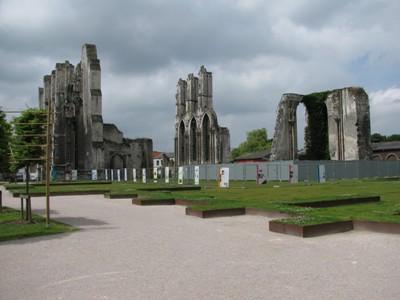 Ruins of Abbey Saint Bertin