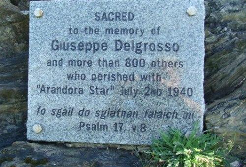 Monument Omgekomen Italiaanse Krijgsgevangenen