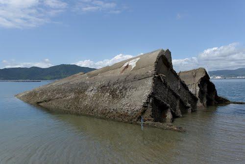 Wreck Japanese Concrete Ship