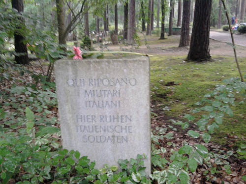 Mass Grave Italian Prisoners of War Heidefriedhof