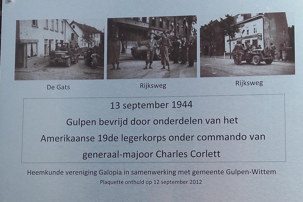 Liberation Plaque Gulpen
