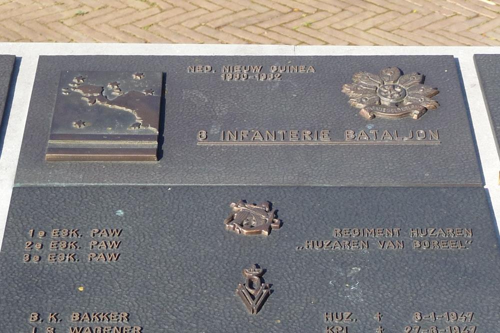 Plaque 6th Infantry Battalion