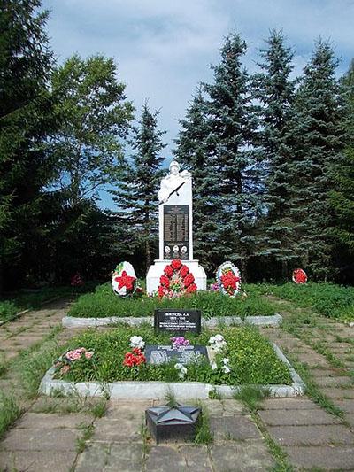 Sovjet Oorlogsbegraafplaats Druzhnaya Gorka