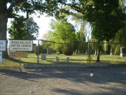 Commonwealth War Grave Burkholder Cemetery