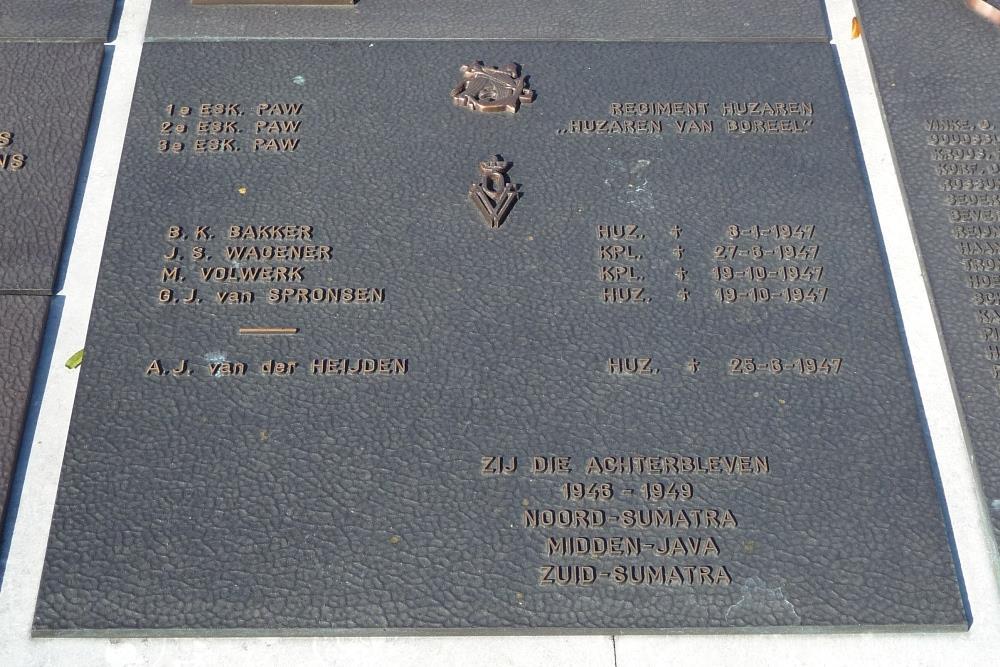 Plaquette 1e, 2e en 3e ESK PAW, Regiment