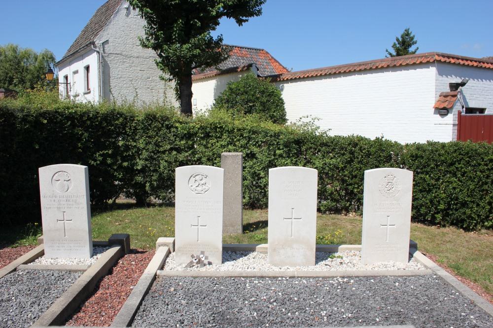 Oorlogsgraven van het Gemenebest Moregem