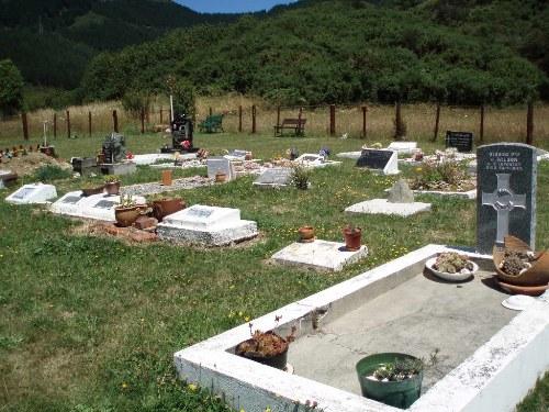 Oorlogsgraf van het Gemenebest Canvastown Maori Cemetery