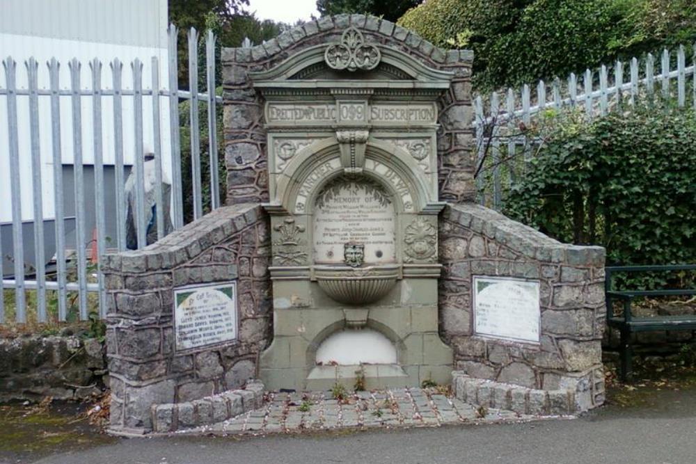 War Memorial Froncysyllte