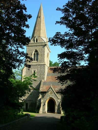 Oorlogsgraven van het Gemenebest St Bartholomew Churchyard